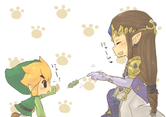 Zelink Zelda/Li... Wolf Link Twilight Princess Fan Art