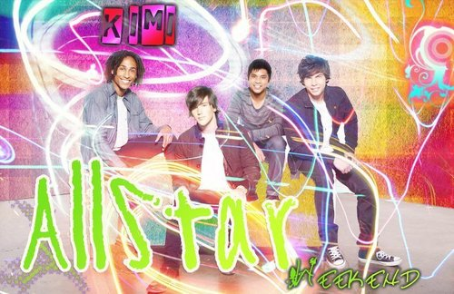 Allstar Weekend wallpaper with a fountain called allstar weekend