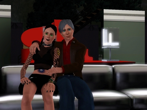 gibbs and abby - the sims 3 - game pc