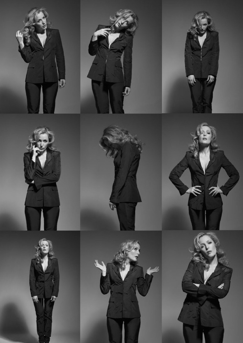 gillian anderson nakey picture