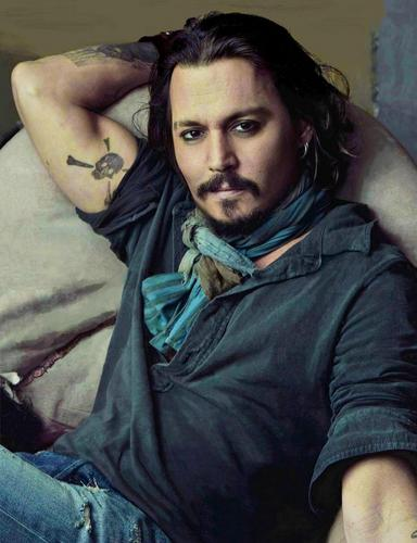 johnny depp- UK Vanity Fair - 2011 Jan - johnny-depp Photo
