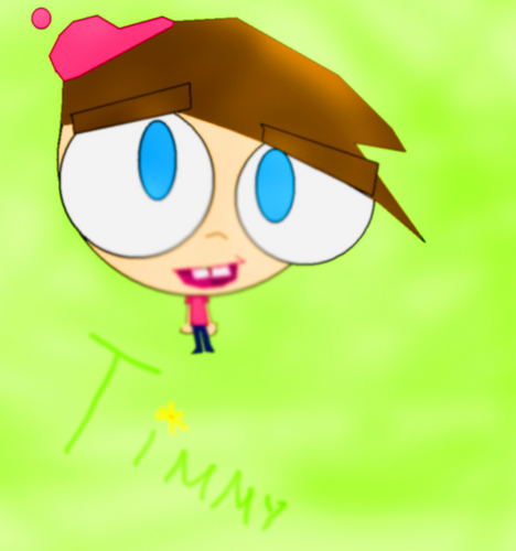 The Fairly OddParents वॉलपेपर entitled timmy turner