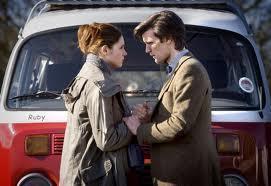 Matt Smith & Karen Gillan Обои with an automobile and a минивэн, микроавтобус called xxx