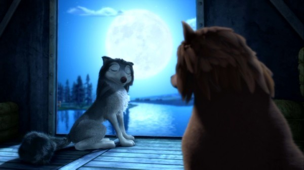 """Howl at the moon with me!"""