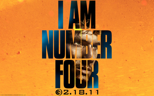 """I Am Number Four"" پیپر وال"