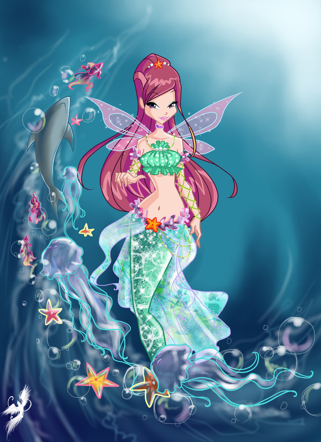 The winx club winx club mermaids