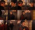Arthur/Merlin caps