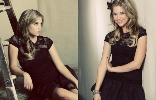 Ashley Benson in Troix Magazine