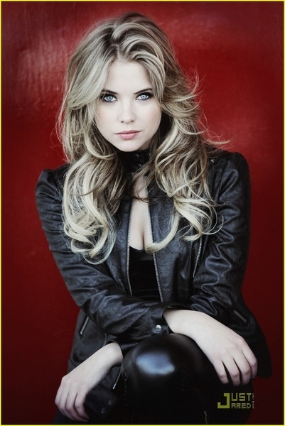 Ashley Benson in Troix Magazine