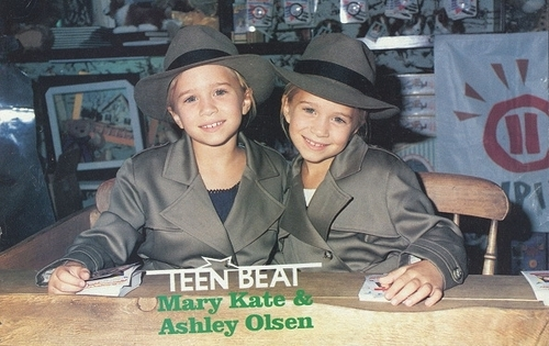 Mary-Kate & Ashley Olsen wallpaper containing a green beret and fatigues titled Ashley Fuller and Mary-Kate Olsen