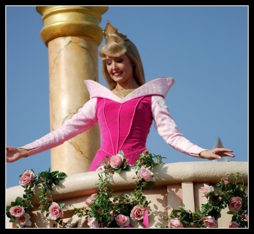 Aurora from the Disneyland parade