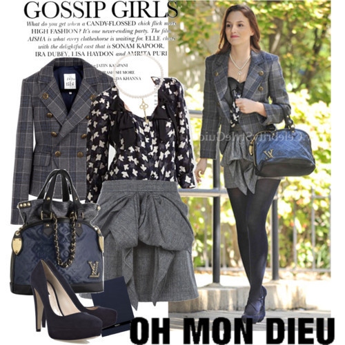 Bw Fashion Gossip Girl Fashion Fan Art 18249722 Fanpop