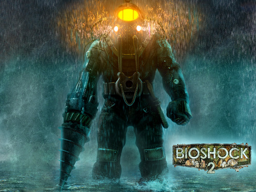 funkyrach01 wallpaper with a fountain entitled Bioshock 2