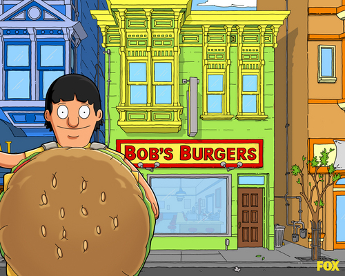 Bob's Burgers wallpaper with a street called Bob's Burgers