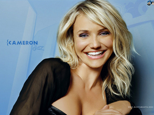 Cameron Diaz karatasi la kupamba ukuta containing a portrait, attractiveness, and skin titled Cameron Diaz