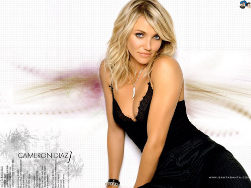 Cameron Diaz karatasi la kupamba ukuta containing attractiveness and a portrait entitled Cameron Diaz
