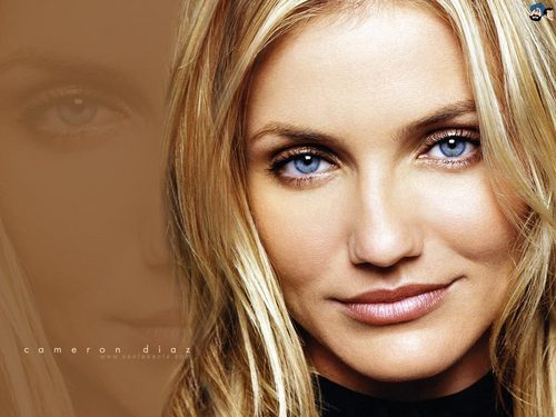 Cameron Diaz پیپر وال containing a portrait titled Cameron Diaz