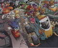 Chaotix and Freedom Fighter's Victory - archie-sonic-the-hedgehog photo