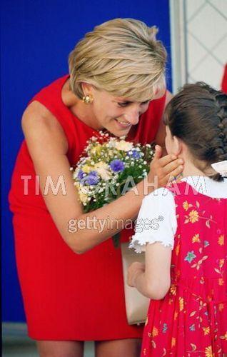 Diana, Princess of Wales at Northwick Park