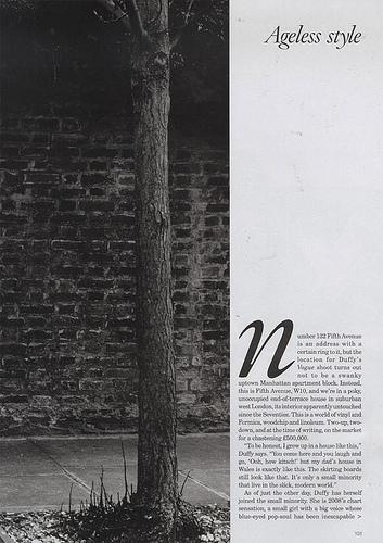Duffy | Vogue UK July 2008.