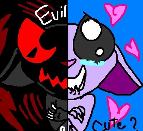 Evil or cute?