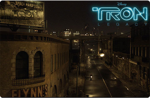 Tron Legacy Wallpaper Containing A Street Diner And Multiplex Entitled Flynns Arcade