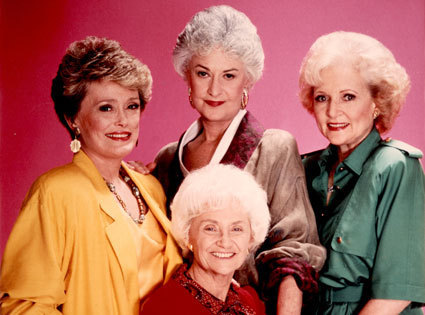 Golden Girls VS Designing Women দেওয়ালপত্র probably containing a portrait entitled GG Four
