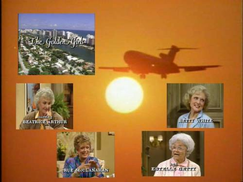 Golden Girls VS Designing Women 壁紙 entitled GG ゴールド Intro 壁紙
