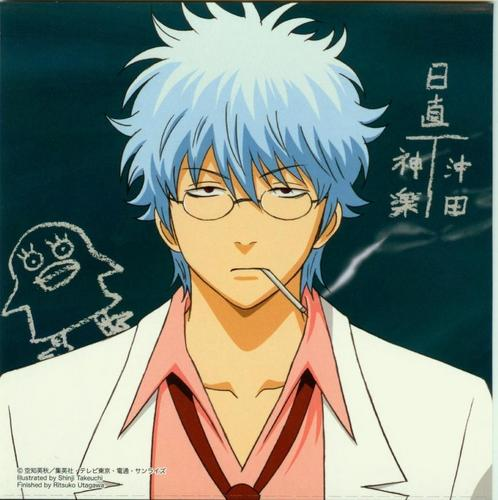 Gintama wallpaper with anime entitled Ginpachi Sensei