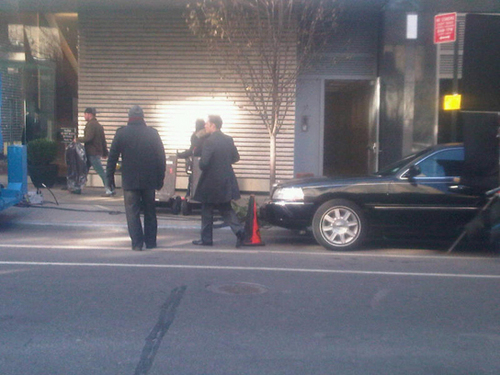 Gossip Girl - Set picha - 5th Jan 2011
