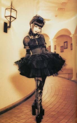 Lolita achtergrond probably containing a jager, schutter entitled Gothic Lolita Style - Mana
