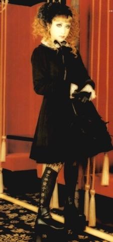 Lolita দেওয়ালপত্র with a hip boot titled গথ দেশীয় Lolita Style - Mana