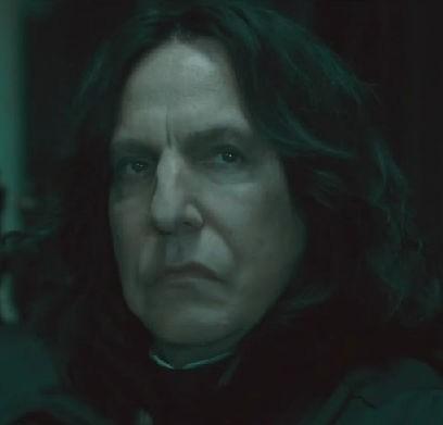 Grumpy Snape