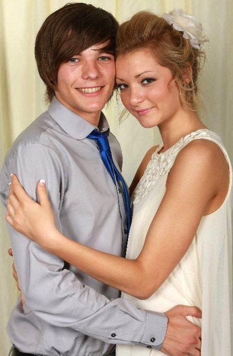 Louis Tomlinson and Hannah Walker
