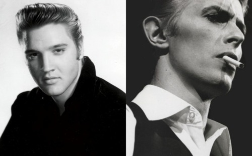 Happy Birthday Elvis Presley & David Bowie! ♥ :)