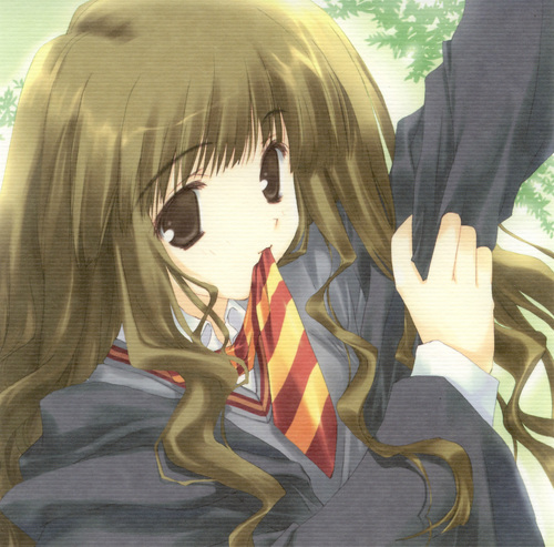 funkyrach01 wallpaper titled Hermione [Anime]