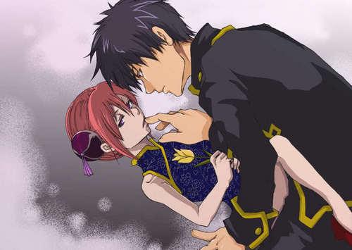 Hijikata Toshirou & Kagura