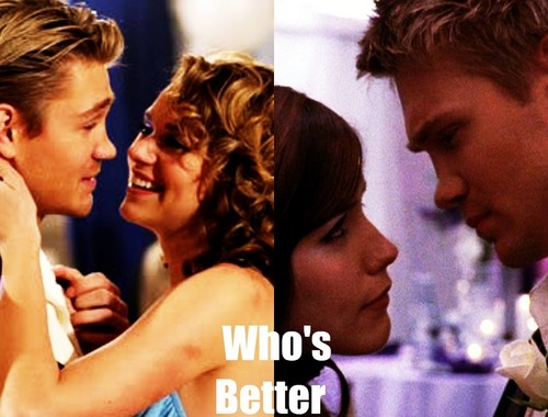 Leyton vs. Brucas karatasi la kupamba ukuta possibly containing a portrait called Who's better?
