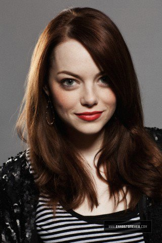 Emma Stone wallpaper possibly containing a portrait entitled InStyle 2010 photoshoot