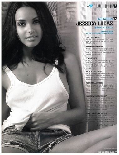Jessica in Vibe Magazine - December 2009