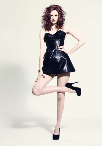 doctor who wallpaper with a koktil, koktail dress, a chemise, and a chemise called Karen Gillan