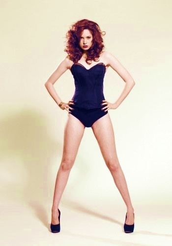 Doctor Who hình nền with a maillot titled Karen Gillan
