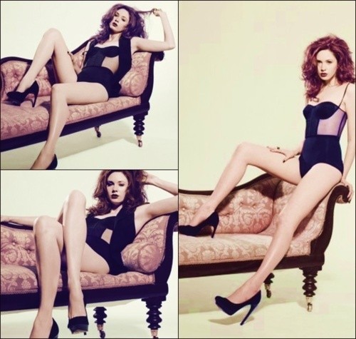 doctor who wallpaper containing a leotard, tights, and a maillot called Karen Gillan