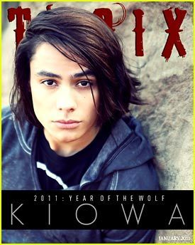 Kiowa Gordon covers January issue of TROIX Magazine