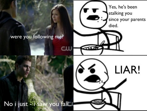 LMAO - damon-and-elena Fan Art