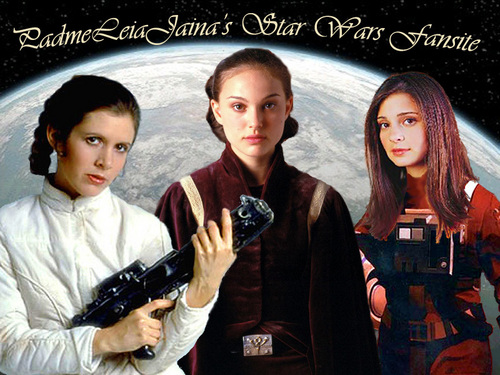 Leia, Padme and Jaina