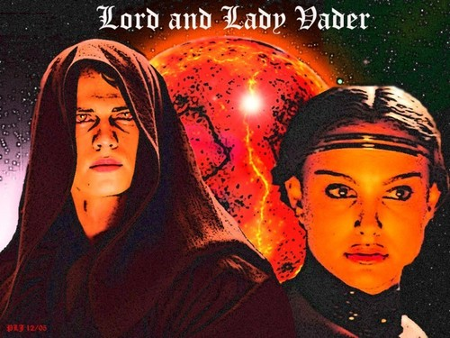 Lord and Lady Vader