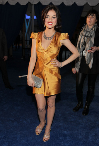 Lucy @ 2011 PCA's