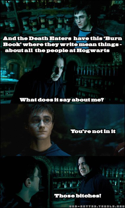 harry potter crossover mean girls