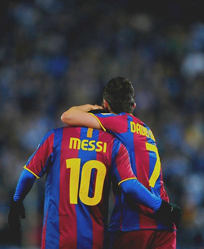 Messi&Villa